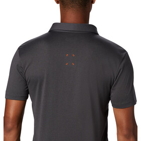 Columbia Triple Canyon Tech Polo Men shark/caramel